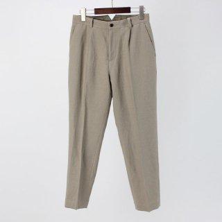 【50%OFF】PHLANNEL Wool Linen One Tuck Trousers