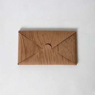 【11月17日再入荷!】【i ro se イロセ 】seamless long wallet WOOD
