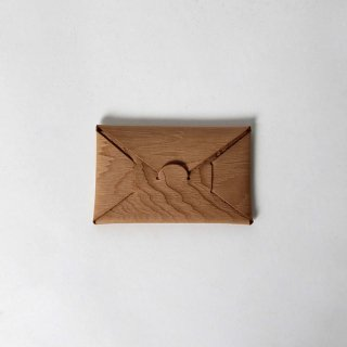 【11月17日再入荷!】【i ro se イロセ 】seamless card case WOOD