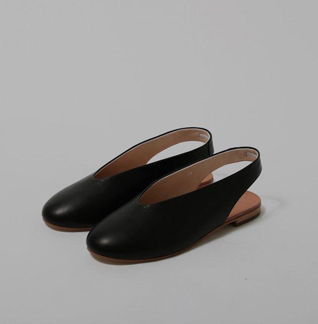 _Fot v ballet sandals BLACK