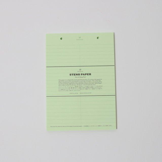 【POSTALCO】STENO PAPER A5 REFILL