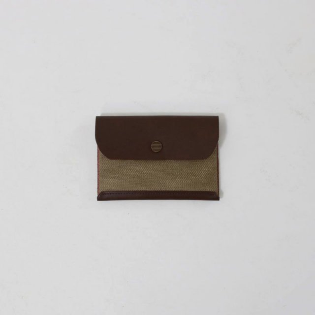 【POSTALCO】SNAP CARD HOLDER OLIVE GREEN