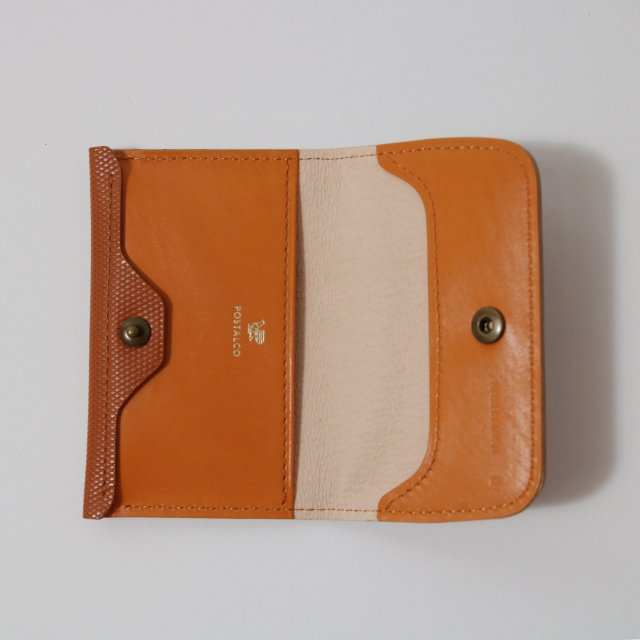 【POSTALCO】CROSSGRAIN LEATHER COIN WALLET BROWN