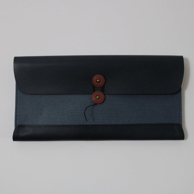 【POSTALCO】TRAVEL WALLET NAVY BLUE
