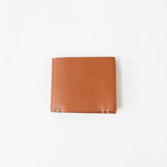 【40%OFF】【FEIT ファイト】HAND SEWN SQUARE BIFOLD TAN