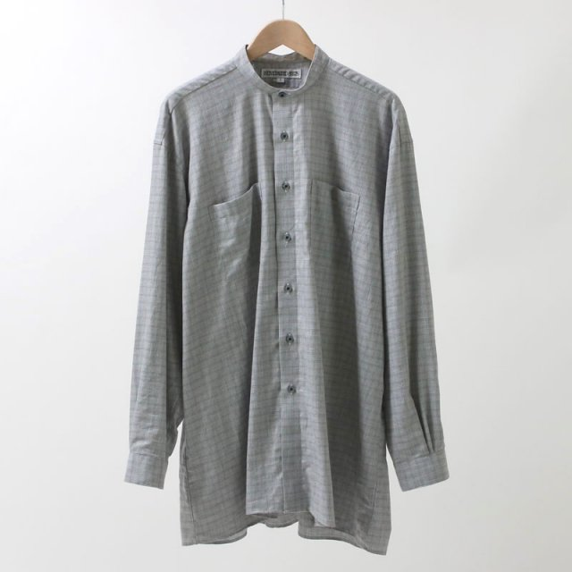【40%OFF】【当店別注商品】INDIVIDUALIZED SHIRTS BAND COLLAR SHIRTS CHECK