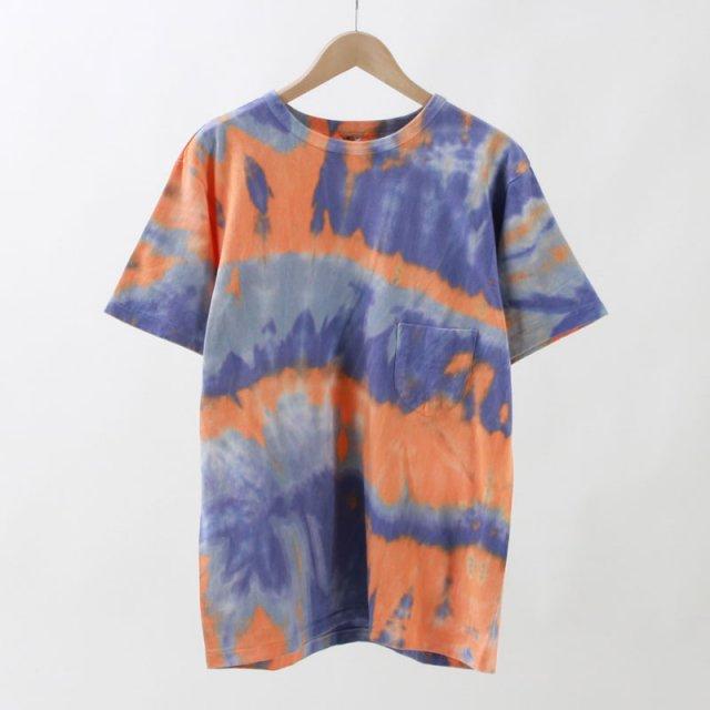 【30%OFF】【FilMelange フィルメランジェメンズ】TD-DIZZY/ディジー tie dye orange