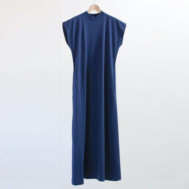 【Phlannel フランネル】Organic Cotton Summer Long Dress BLUISH PURPLE