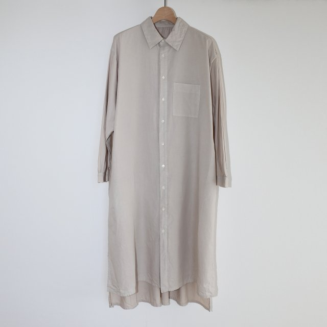 【COSMIC WONDER コズミック ワンダー】BEAUTIFUL ORGANIC COTTON SHIRT DRESS SAND