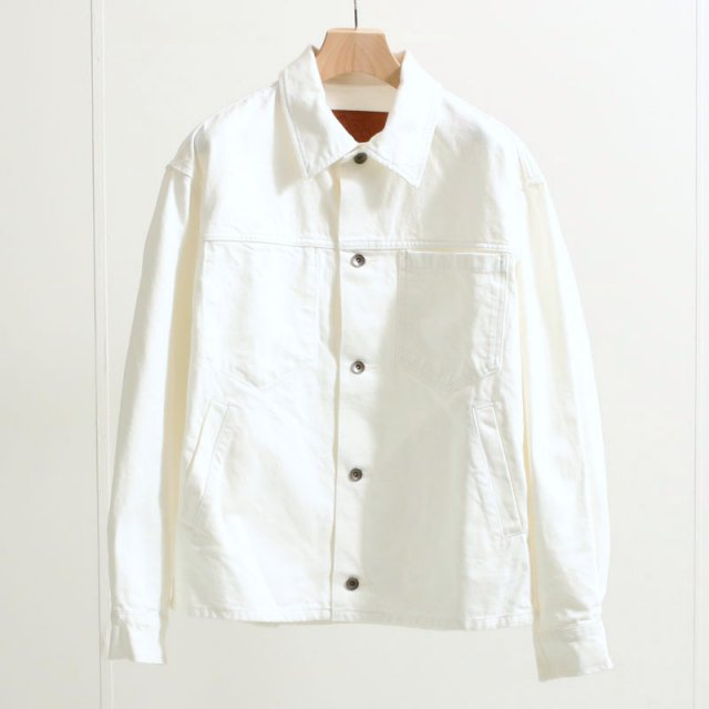 【ARPENTEUR アーペントル】JUST DENIM JACKET EDDIE J WHITE