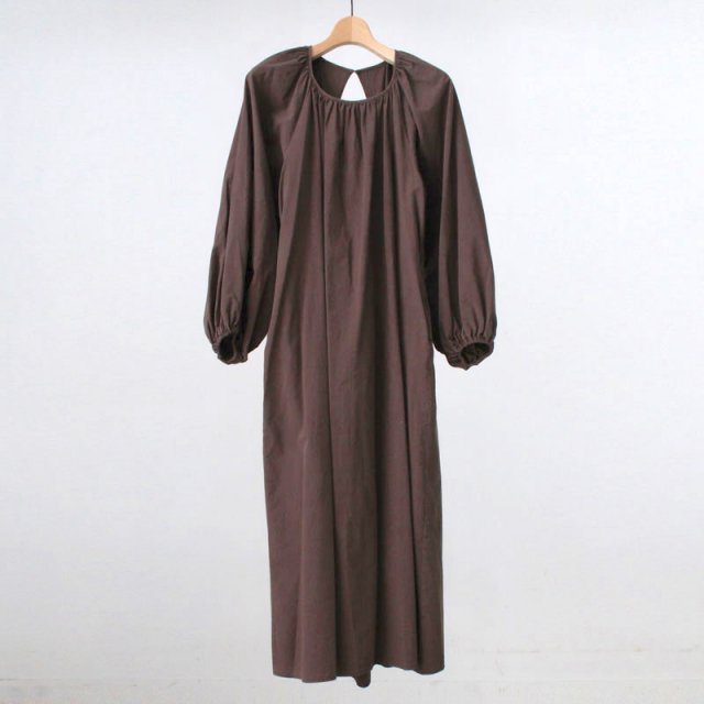 【30%OFF】【R JUBILEE アール ジュビリー】Back Open Dress BROWN