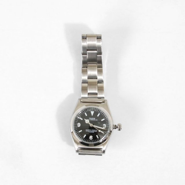 【UNIVERSAL PRODUCTS ユニバーサルプロダクツ】BB EX-1 -STAINLESS- (VAGUE WATCH)