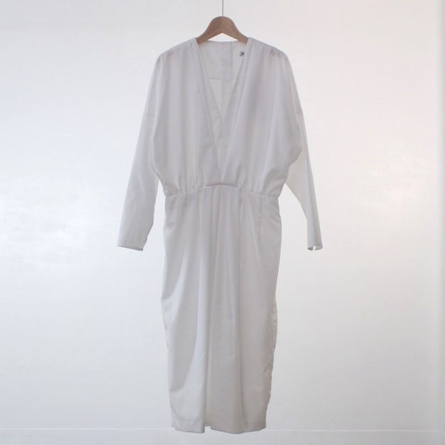 【50%OFF】【SEEALL シーオールレディース】LAYERED DRESS WHITE