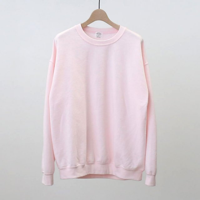 【TOWNCRAFT タウンクラフト】80'S CREW SWEAT PINK