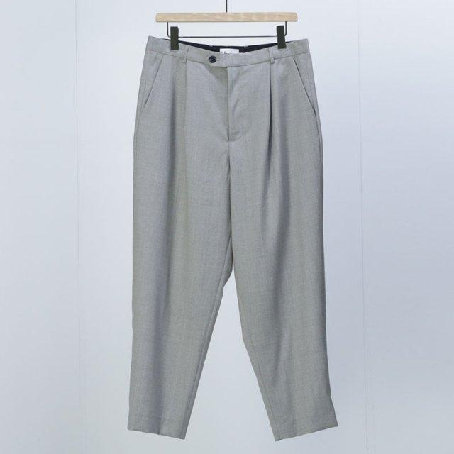 【2021 S/S】【lownn ローン】Neo Pants Greige (grey/beige)