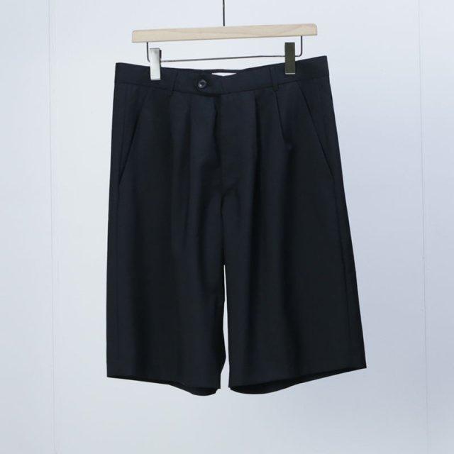 【2021 S/S】【lownn ローン】Wide Short Black
