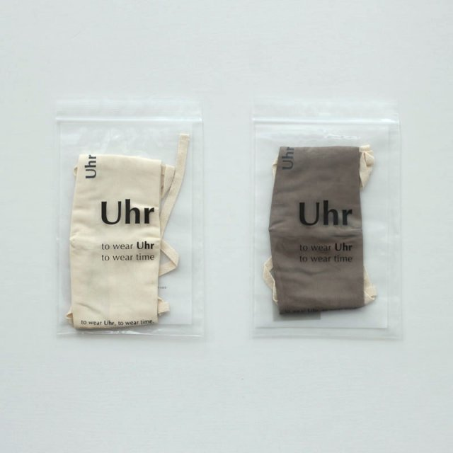 【Uhr / ウーア】MASK-to wear Uhr to wear time