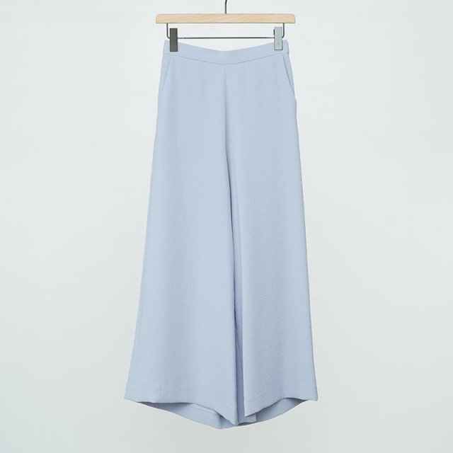 【2021 S/S】【PHEENY / フィーニー】Dobby wide flared pants BLUE