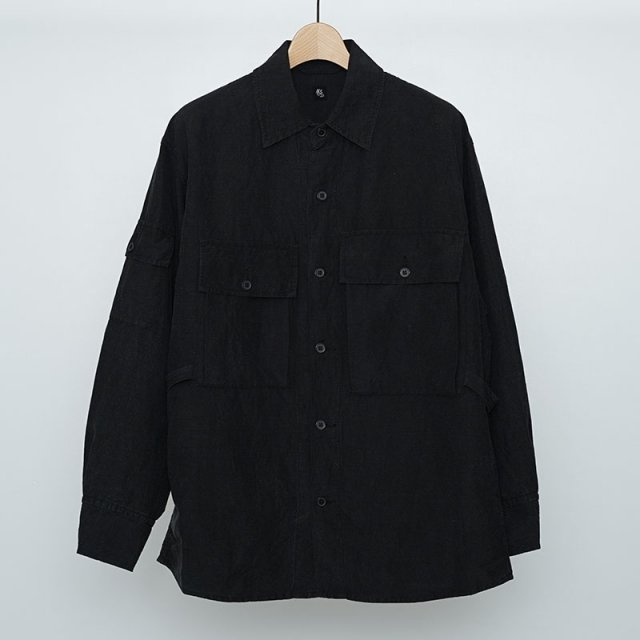 【2021 S/S】【KAPTAIN SUNSHINE キャプテンサンシャイン】Field Shirt Jacket BLACK