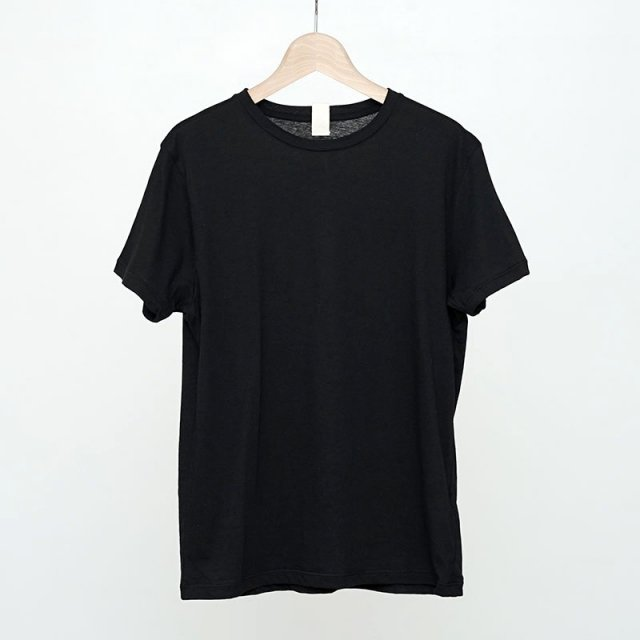 【2021 S/S】【Uhr / ウーア】Recycled Cotton Basic Tee Black