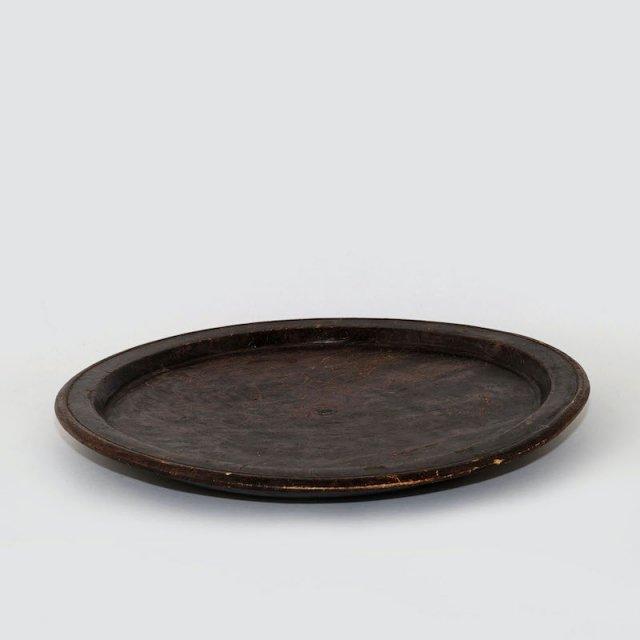 Vintage African Wood Plate 1