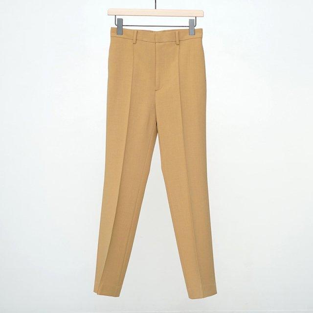 【2021 A/W】【AURALEE オーラリーレディース】TENSE WOOL DOUBLE CLOTH SLACKS BEIGE