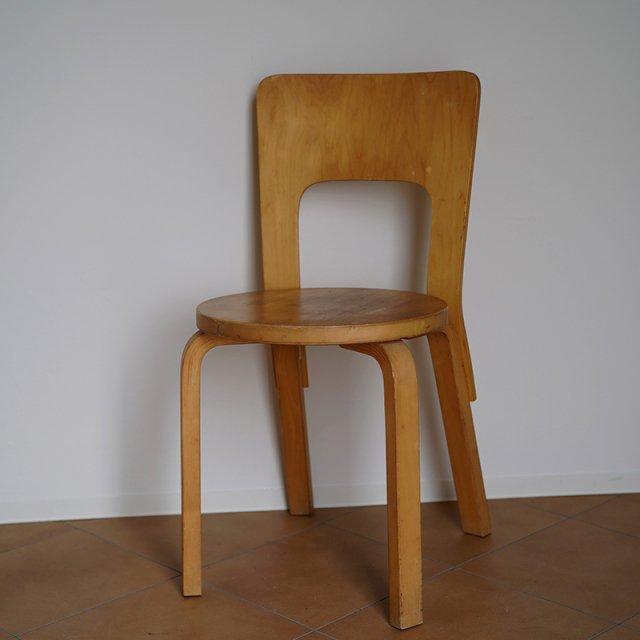 ALVA AALT chair No.66 / 70s-80s