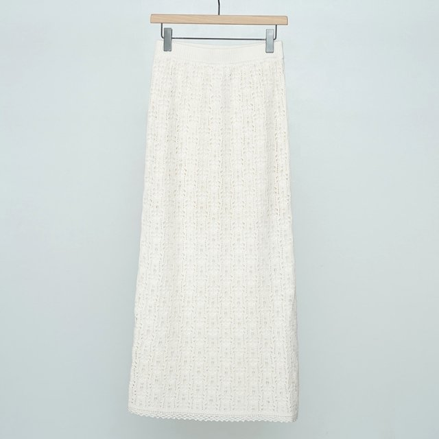 【2021 S/S】【THE SHINZONE / ザ シンゾーン】LACE KNIT SKIRT