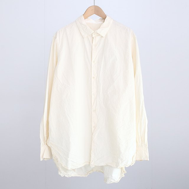 【CASEY CASEY ケイシーケイシー】LIGNIERE HOMME SHIRT-17HC232 NATURAL