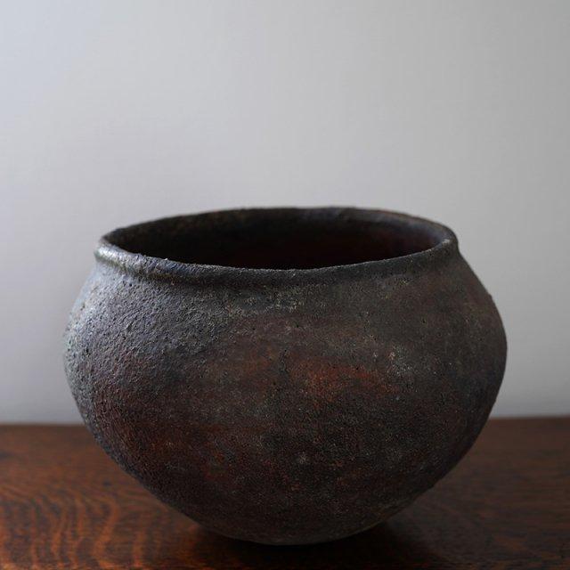 遠藤薫 / 焼〆壺 / 益子焼