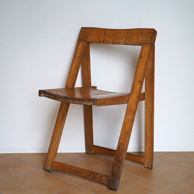 Folding Chair by Aldo Jacober / Itary / 60s