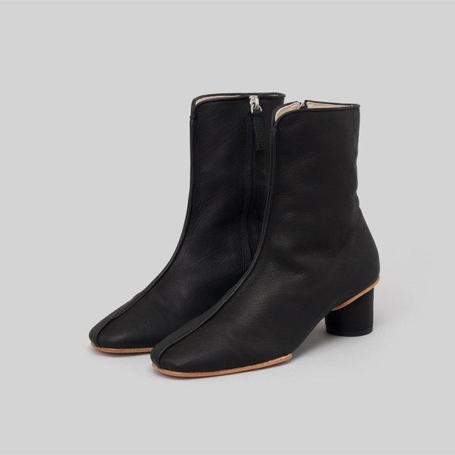 _Fot heel soft boots BLACK