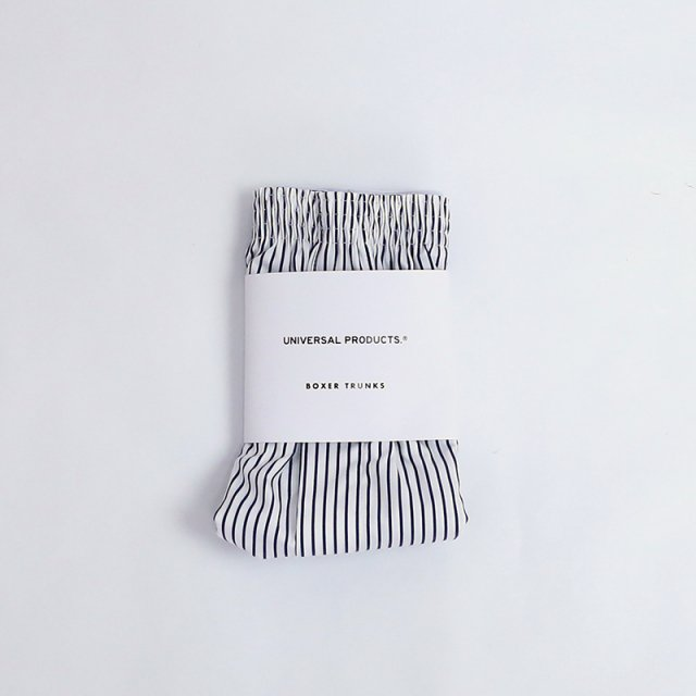 【2021 A/W】【UNIVERSAL PRODUCTS ユニバーサルプロダクツ】BOXER TRUNKS STRIPE