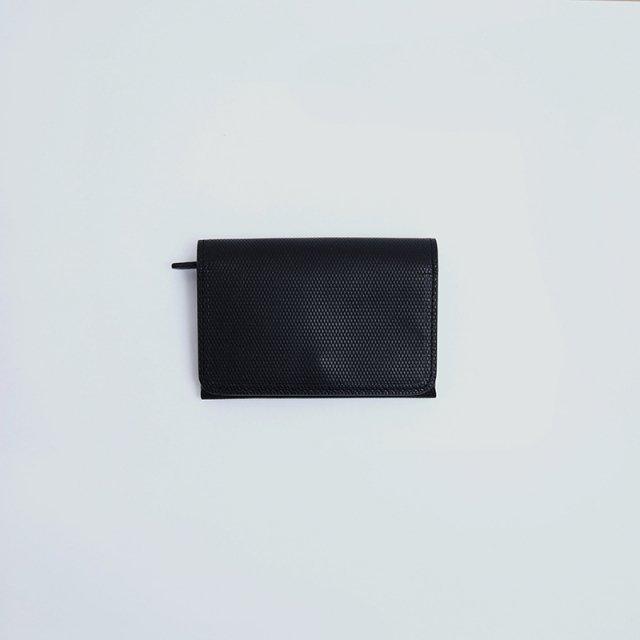【POSTALCO】MINI WALLET Black