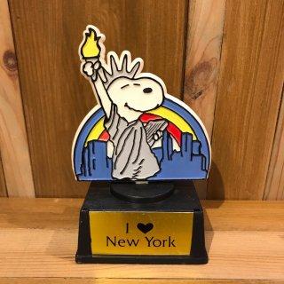 """スヌーピー  トロフィー """"I Love New York"""""""