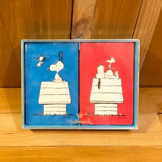 70's スヌーピー トランプ プレイングカード ヴィンテージ ドッグハウス