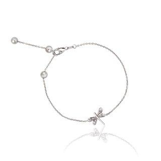 トンボ ダイヤ ブレスレットの商品画像