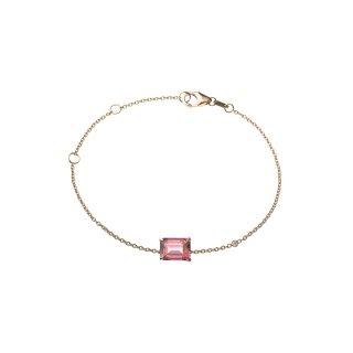 ピンクトパーズ ブレスレット with ダイヤモンドの商品画像