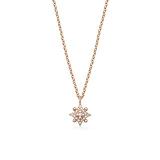 ローズ デ ヴァン  ダイヤ ネックレスの商品画像