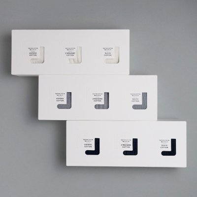 【SOUKI SOCKS】 Tasting Socks 3種セット ギフトボックス入り