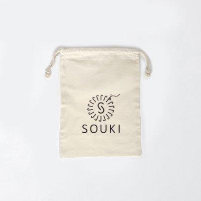 【SOUKI ORIGINAL】ギフト用コットン巾着