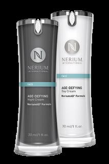Nerium AD ネリウム ナイトクリーム+デイクリーム Night Cream 30ml +Day Cream 30ml セット ネオラ Neora