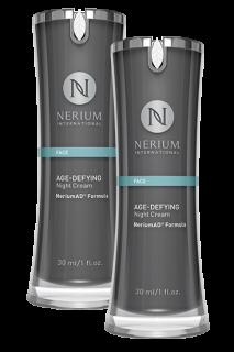 ネリウム エイジディファイング ナイトクリーム2個セット Nerium Age-Defying Night Cream NeriumAD Formula 2pack ネオラ Neora