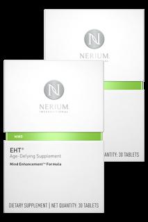ネリウムEHT サプリメント30錠 / 1ヶ月分 2個セット Nerium EHT Mind Enhancement Formula 2Pack ネオラ Neora