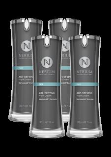 ☆≪販売終了≫ネリウム エイジディファイング ナイトクリーム4個セット Nerium Age-Defying Night Cream NeriumAD Formula 4pack ネオラ Neora