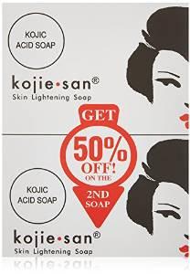 コジエさん スキンライトニング美白ソープ石鹸 135g×2個 Kojie San Skin Lightening Soap(2 Pack)