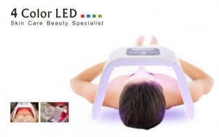 OMEGA light LEDオメガライト スペクトルオムニラックスコラーゲン美肌マスク美顔器