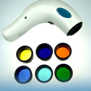 7色フィルター付き Bio Light バイオライト ハンディ 光美顔器 可視光線