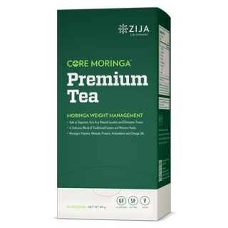 ジージャ モリンガ プレミアムティー Zija Premium Moringa Miracle Tea, 30 Packets