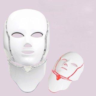 7色新型LEDスペクトルオムニラックスコラーゲン美肌マスク型美顔器首付